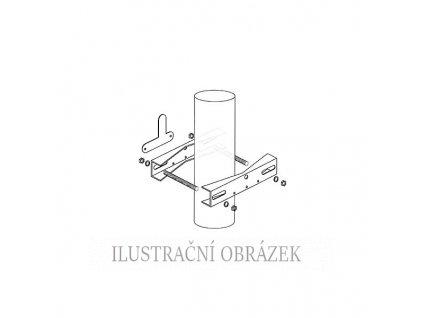 Konzole pro montáž detektorů D-Tect na trubku