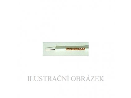 Koaxiální kabel s pláštěm z PVC k vnitřní instalaci do 250 m, v návinu 100 m.