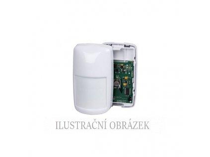 PIR detektor IS3016 s dosahem 16 m, EOL rezistory, pohledem pod sebe a PLUG-IN konstrukcí