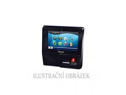 Biometrický terminál se čtečkou otisků prstů, dotykovým displejem a čtečkou karet iClass