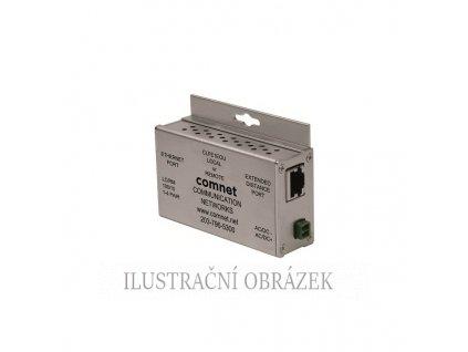 Transciever pro přenos IP kamer po koaxiálním kabelu až na 1500 m