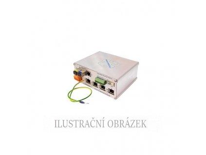 Průmyslový switch LAN-RING s 2 x GE 2 Gbps, 1 x GE UTP a 4 x FE UTP PoE