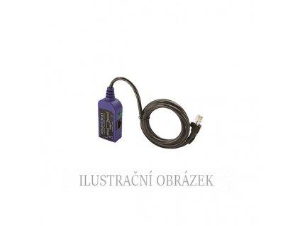 Adaptér pro lokální nastavení IP kamery na Ethernetu s PoE
