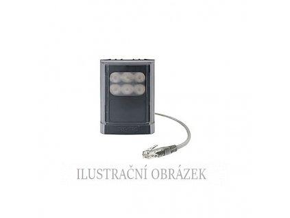 IR LED světlo Vario2 s vyměnitelnými čočkami, max. 62 m (10°), 850 nm a napájením přes PoE / 24 V, 8 W
