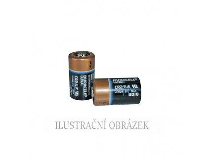 3 V lithiová baterie typu CR2 (CR17355) s kapacitou 800 mAh