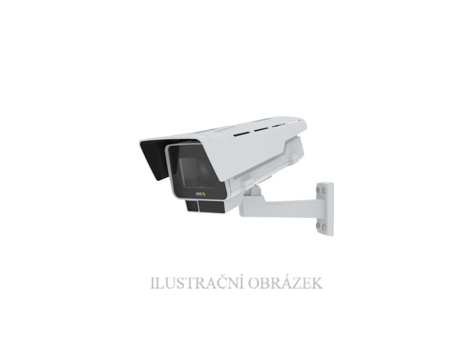 Venkovní IP box kamera Axis M1378-LE s 8 MP, f - 3,9 - 10 mm, WDR, EIS, IP66 a IR přísvitem do 50 m
