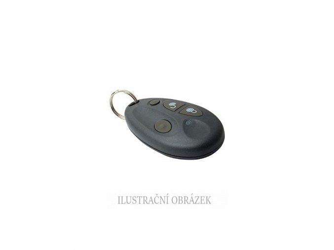 Bezdrátová ovládací klíčenka s plovoucím kódem