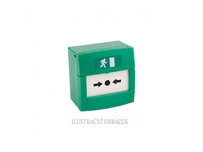 Zelené tlačítko