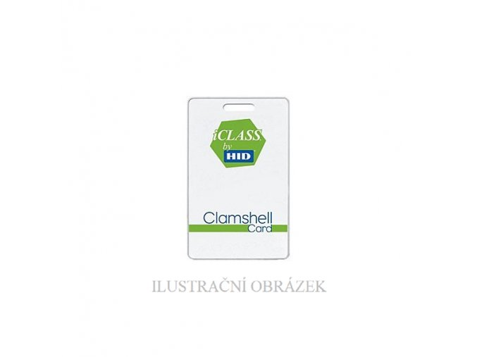 Clamshellová bezkontaktní karta iClass 2K / 2A