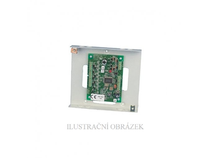 Koncentrátor v kovovém krytu pro 8 zón a 4 PGM výstupy