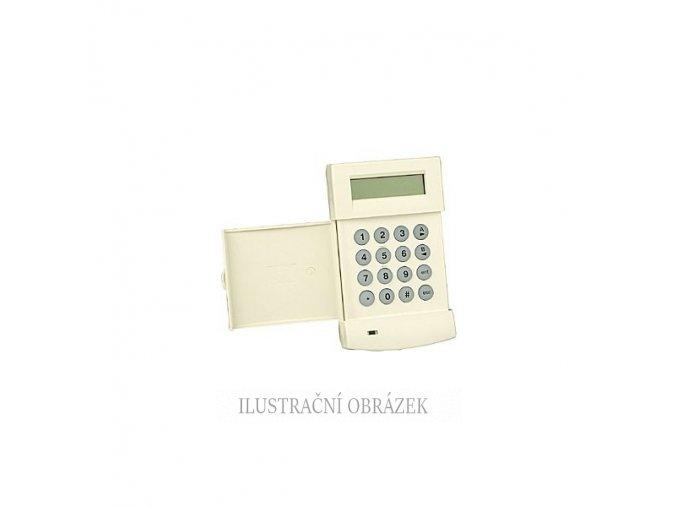 LCD klávesnice s vestavěnou čtečkou EM karet a přívěšků