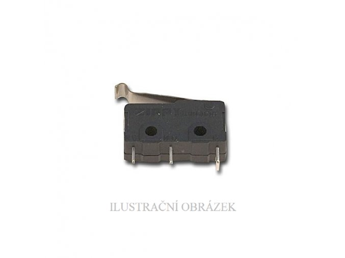 Mechanický mikrospínač jako tamper kontakt