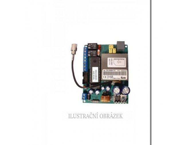 Plošný spoj GSM brány se simulací telefonní linky