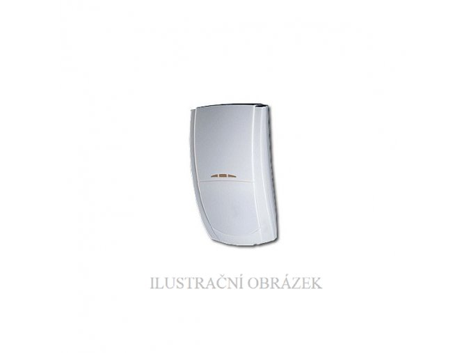 Duální detektor Prestige DT s vestavěnými EOL rezistory a dosahem 15 m