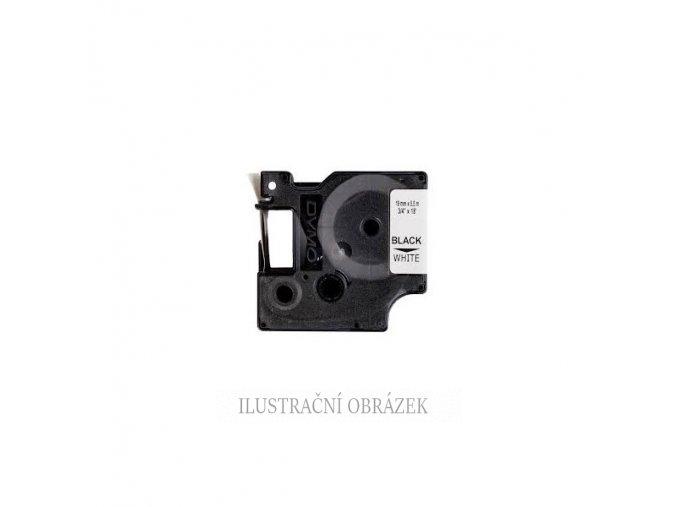 Kazeta s flexibilní nylon páskou, černým potiskem, délkou pásky 3,5 m a šířkou 19 mm