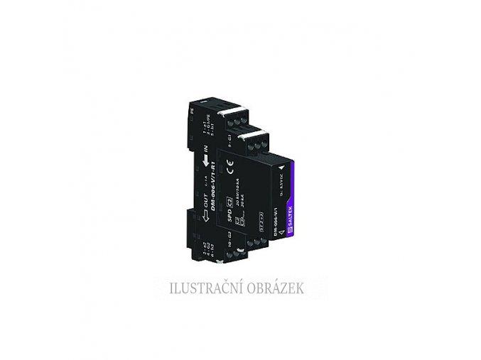 Svodič bleskových proudů s přepěťovou dvoustupňovou ochranou stíněných signálových linek 6 Vss