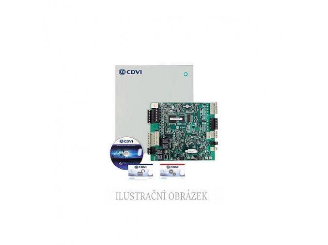 Atrium - dvoudveřový webový přístupový kontroler v kovovém krytu s napájecím zdrojem