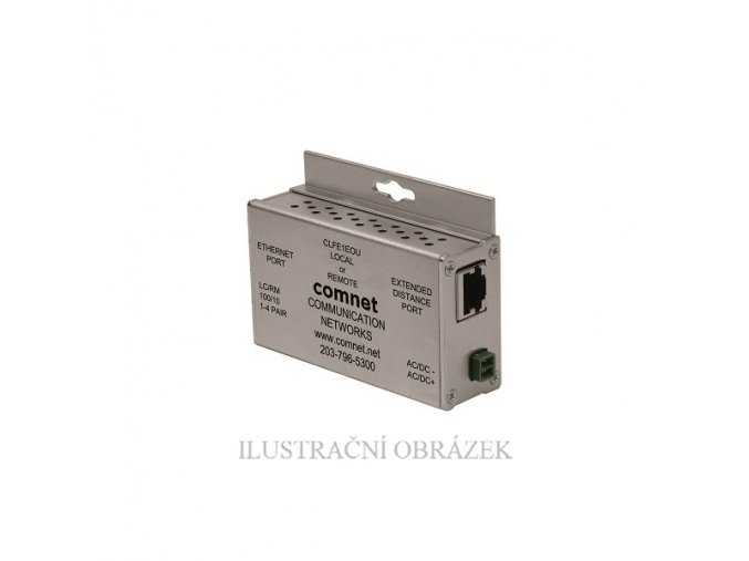 Transciever pro přenos IP kamer (TCP / IP ) po UTP kabelu až na 900 m