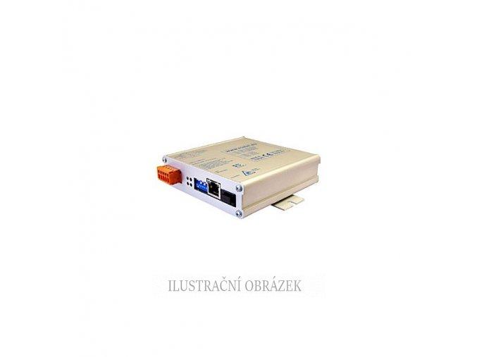 GE / FE průmyslový media konvertor s SFP slotem