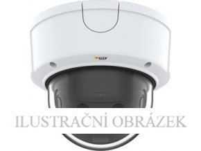 4 x 2 MP IP panoramatická dome kamera Axis P3807-PVE s objektivy 3,2 mm, WDR a krytím IP66