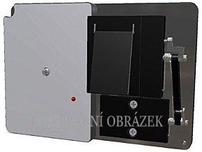 Detektor pro skryté střežení obrazů s připojením k univerzálnímu vysílači systému Octopus