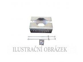 Konzole pro montáž detektorů SDI na sloupek o průměru 114 - 20 3 mm