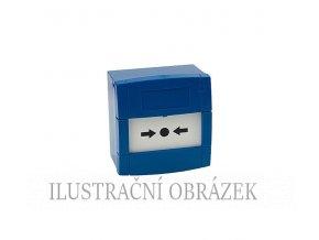 Tlačítko pro povrchovou montáž s prolamovacím plastem, dvojitým NC / NO výstupem, bez symbolu