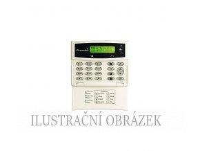 Klávesnice Premier LCD s menším displejem, dvěma klávesnicovými zónami a PGM výstupem