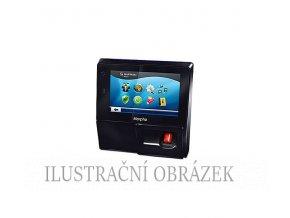 Biometrický terminál se čtečkou otisků prstů, dotykovým displejem a čtečkou Mifare / DESfire