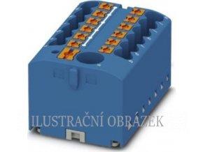 Push-in svorkovnice 500 V / 24 A se 13 svorkami pro vodiče o průřezu 0,14 - 4 mm2