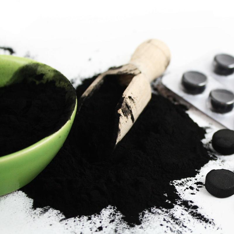 Aktivní uhlí v kosmetice
