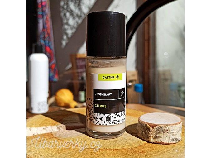 Caltha Přírodní deodorant kuličkový Citrus  Přírodní produkt