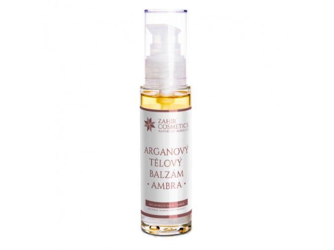 Zahir Cosmetics Tělový arganový balzám Ambra 50ml