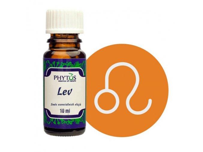 lev astrologicka smes esencialnich oleju phytos
