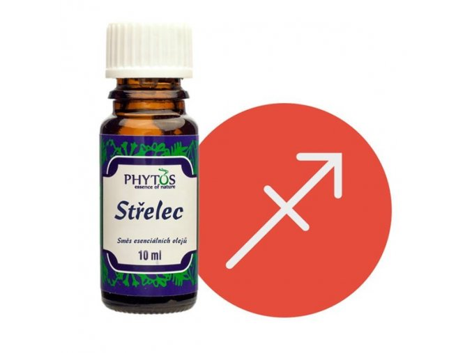 strelec astrologicka smes esencialnich oleju phytos