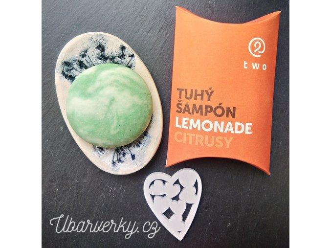 Two Cosmetics tuhy sampon lemonade