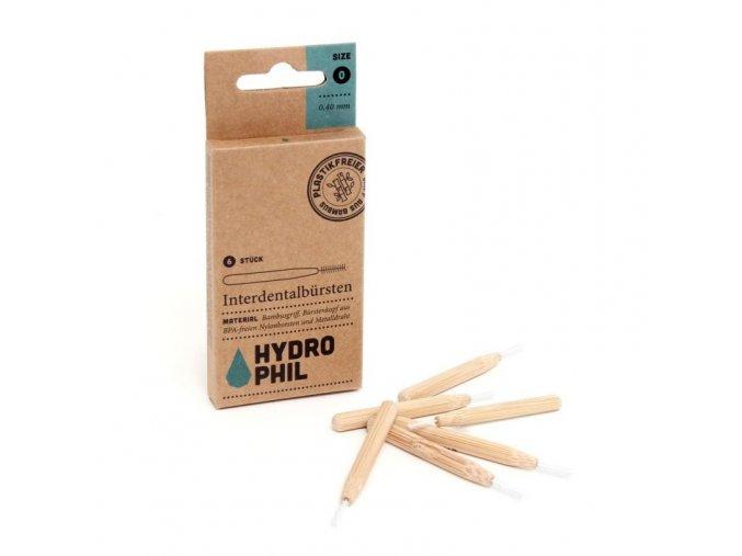 Hydrophil Bambusový mezizubní kartáček (6 ks)