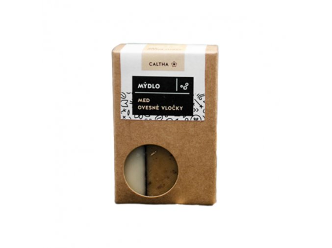 Caltha Medové mýdlo s ovesnými vločkami 100g  non toxic