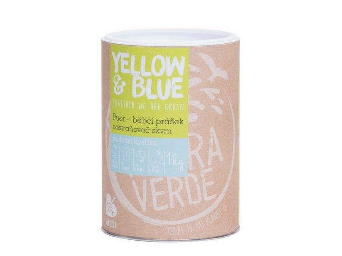 Yellow & Blue Puer - bělící prášeka odstraňovač skvrn