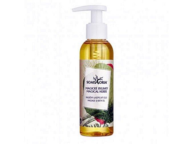 magicke bylinky organicky masazny olej