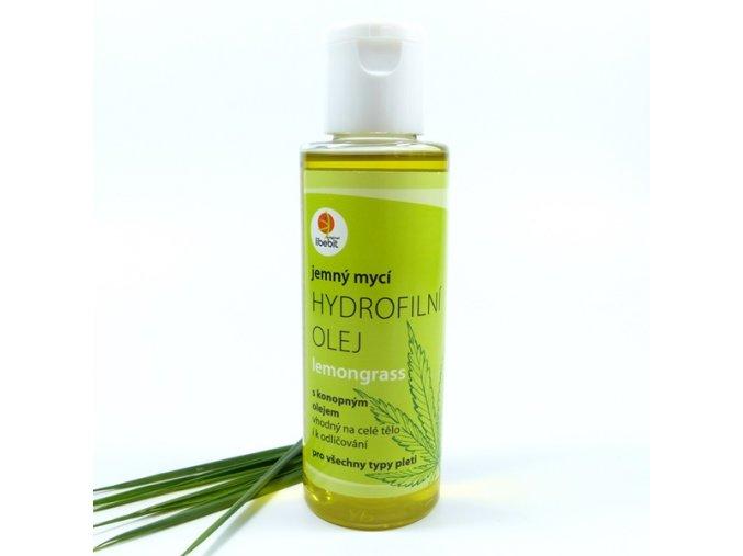 Libebit Hydrofilní olej konopný Lemongrass