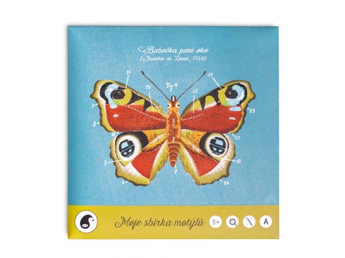 Pipasik Moje sbirka motylu cover