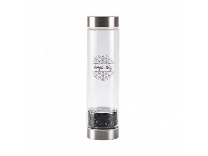 skleněná láhev s onyxem