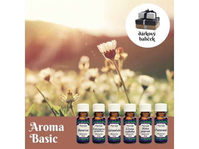 aroma basic darkovy balicek 100 esencialni oleje phytos