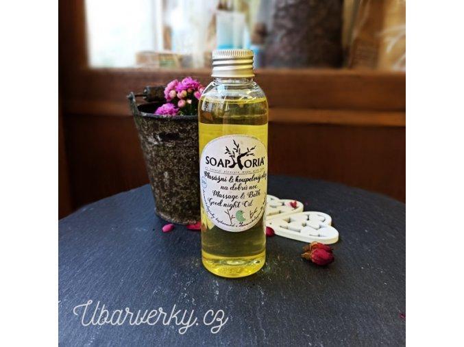 organický olej pro děti
