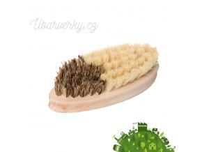 Dřevěný kartáč na zeleninu  non toxic
