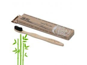 Zubní kartáček bambusový medium