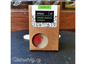 Caltha Meduňkové mýdlo s chlorellou a spirulinou 100g  non toxic