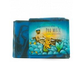 aromaterapeuticke mydlo muzna paze