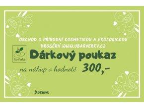 Dárkový poukaz - 300,- 2
